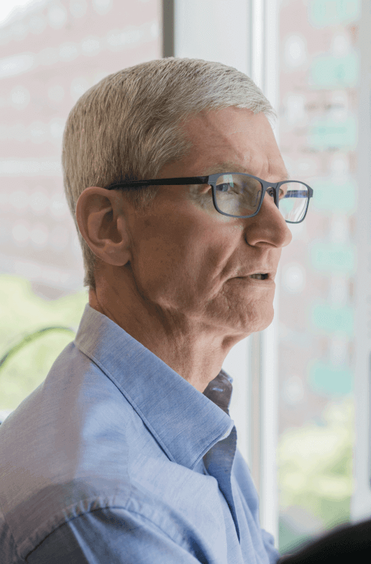 foto di Tim Cook - CEO di Apple