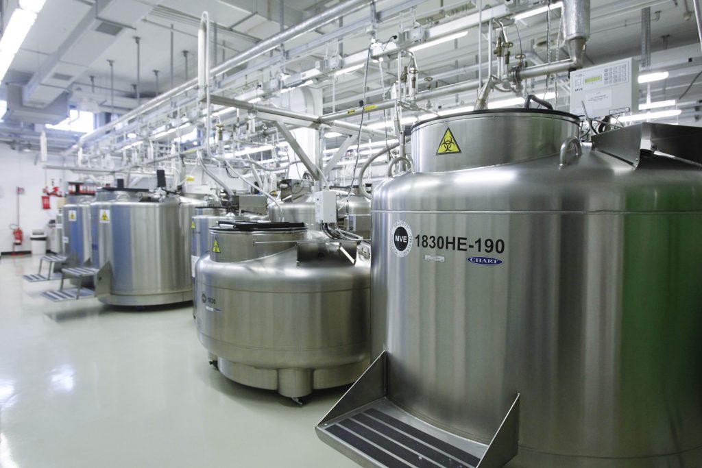 tank room sistemi criogenia