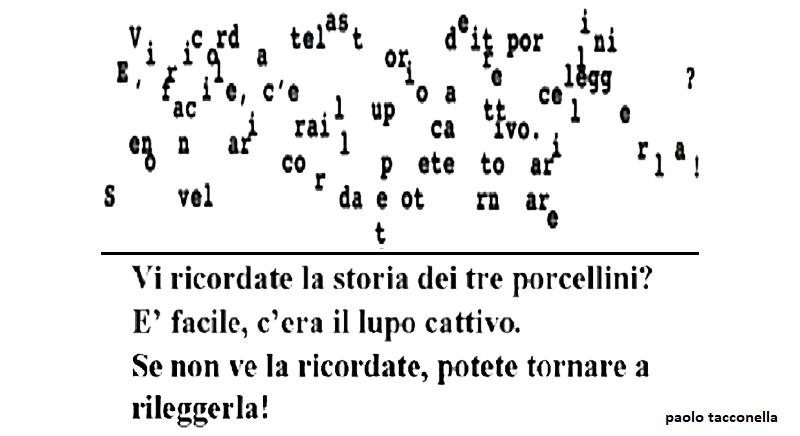 Dislessia decodifica testo lettura