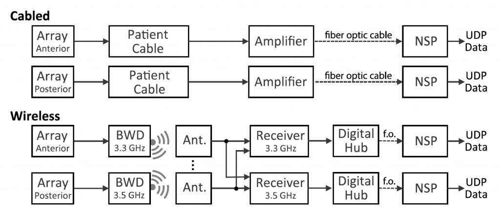 BCI Wireless Array Elettrodi Interfaccia Neurale componentistica