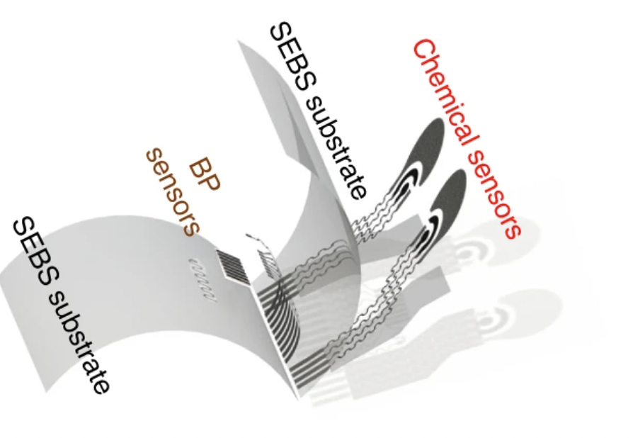 Layout Sensore Integrato